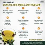 The many benefits of olive oil for your baby and toddler